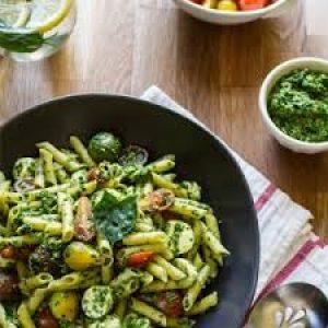 Freezer Friendly - Creamy Pesto Parmesan Pasta @ Live & Learn Centre